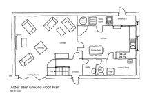 Floor Plans / The Floor Plans for Alder Barn Holiday Home