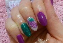 carnival nail art