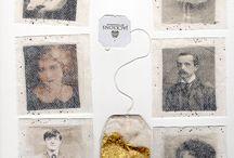 Art - tea bag project
