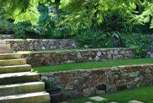 Garden terraced