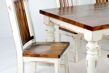 Farmhouse Tables / If you have been looking for the very best in quality Farmhouse Tables, look no further the The Ole Craftsman.  I have been building quality furniture now for over 39 years. Let me custom build one of my heirloom farmhouse tables for your family.