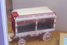 Circus Models / A wide variety of Circus models by various craftsman adorn the many displays through out the International Circus Hall of Fame.