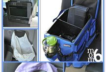 Organizing For A Road Trip / Tips and ideas to organize and get ready for a road trip with your kids.