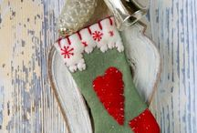 CHRISTMAS STOCKINGS / by Lucy @ Patina Paradise
