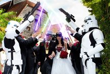Star Wars Wedding Party / To be attended by geek community friends!