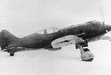 Polikarpov airplanes, e.g.: ITP, I-180, I-185