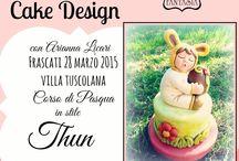 """Corso Cake Design Pasqua Roma - Castelli Romani / il 28 marzo si terra' il Corso di Cake Design dedicato alla Pasqua in stile Thun, con tecnica di modelling tridimensionale, di un personaggio """"bambino"""". L www.torteamorefantasia.com 3394530528 3473014409"""
