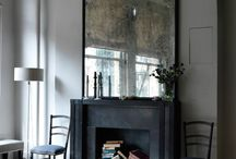 Fireplace without fire