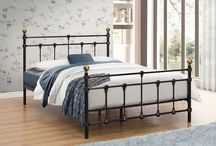 Metal Beds Styling / why not update your bedroom with a metal bed from Birlea.