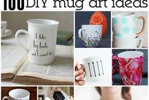 Crafts / Coffee mug art