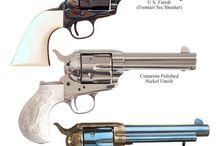 classic handguns - western style