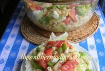 cool summer salads / by Sally Prather