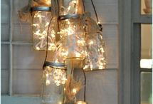 DIY: Mason Jar Lights / Creative inspiration to make stunning lights out of mason jars | www.lights4fun.co.uk/the-blog/create-your-own-copper-wire-mason-jar-fairy-lights/  / by Lights4fun