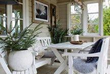 Patio / Porch Decor Inspiration