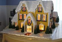 Gingerbread Houses / by Andrea High