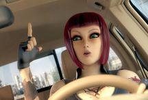 Vídeos de Animação 3D