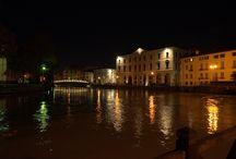 Treviso Italy / A medieval town near Venice