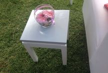 Baby shower by Dyadic-Events / A clean, beautiful and elegant baby shower, decor done by Dyadic-Events.