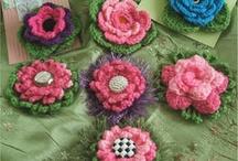 Crochet/Knit - Flowers / by gjg