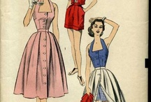 Vintage Summer Outfits / Inspiration for Sewing Vintage Summer Outfits, Summer Dresses, Summer Pants or Swimming Suits! 1940s, 1950s, 1960s.