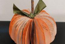 Halloween & autumn crafts / Cross stitch and decorations