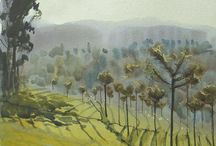 Landscape painting / by Vicki Tyrrell
