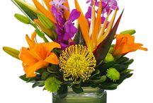Flower arrangements & Table settings