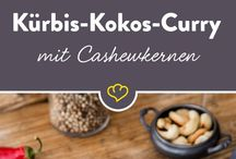 Kürbis kokos Curry