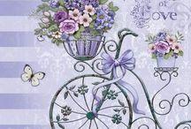 biciclete flori