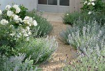 blomster indretning i haven