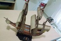 Model Ship : MAYFLOWER / A British Carrack