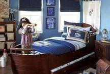 stoere jongens slaapkamer / inspiratie voor een stoere jongenskamer.
