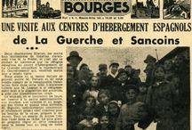 Exil espagnol vu par la presse de l ´époque