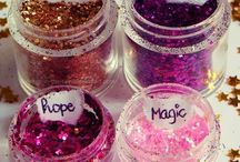 Glitters + sparkles!!!!