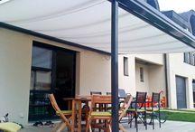 Markisen / Markisen und Beschattungstechnik für Terrassendächer