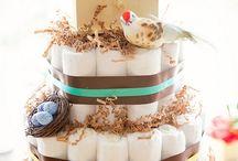 Pelenkatorták - Diaper cakes