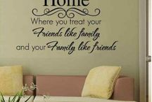 Favourite Sayings About The Home / We have brought together some of our favourite sayings and quotes about the home - after all, it is where the heart is.
