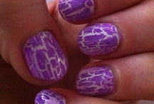 Purple Rose Nails / Nails I have done...
