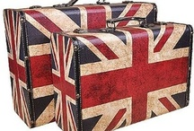 Furniture with English flag (and something like this) / okay, here's all staff, what I found, but isn't photos of London (or other city).  So you can find here: mugs, 'beds', furnitures & very more (& very, very more from my 'must have' list)