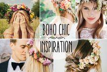 Inspiración floral bodas / Ideas de decoración floral para una boda original y personalizada