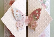 Scrapbooking - fancy fold cards