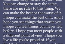 Quotes that I love / quotes