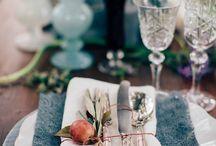 Fall italian wedding