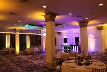 Castle hotel orlando wedding dj lighting ideas decor central florida / wedding dj lighting options at the castle hotel in orlando florida. Options for brides by www.orlandodjandlighting.com