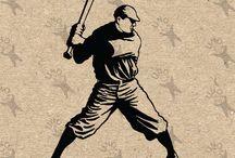 Sport Vintage drawing