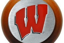 Badger Fan / We love our Badgers! A University of Wisconsin knob is perfect for the family room, students room, office or mancave!