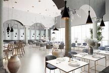 Restaurant renders / Architectural renders