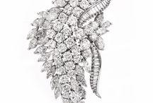 Diamond Platinum Brooches & Pins