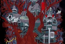 haunted house machine embroidery