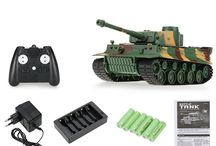RC Battle Tank Model